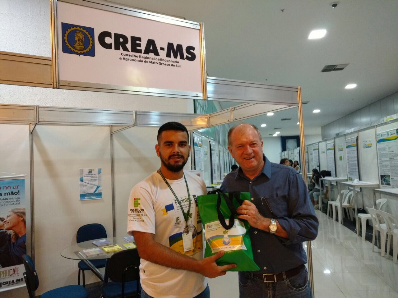 Presidente do Crea-MS, eng. agr. Dirson Freitag, participa do evento